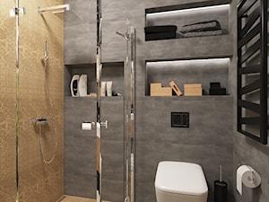 Projekt łazienki w domu prywatnym