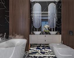 Apartament w Krakowie - Łazienka, styl nowojorski - zdjęcie od e interiors - Homebook