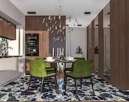 Apartament w Krakowie - Kuchnia, styl nowojorski - zdjęcie od e interiors - Homebook