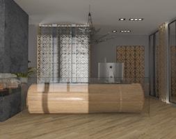 Apart Hotel Recepcja - Wnętrza publiczne, styl nowoczesny - zdjęcie od e interiors - Homebook