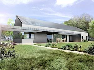 Dom nowoczesny typu stodoła