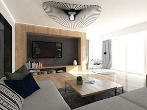 Przestronne mieszkanie w drewnie