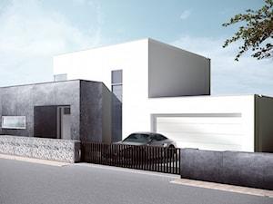 Dom z dużym tarasem
