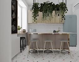 Mieszkanie w starej kamienicy - Kuchnia, styl vintage - zdjęcie od Outline of Design - Homebook