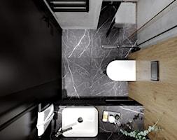 Mieszkanie 40m2 - Łazienka, styl industrialny - zdjęcie od Outline of Design - Homebook