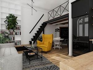 Nowoczesne mieszkanie loft kawalerka