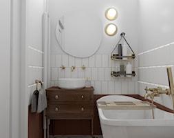 Mieszkanie w starej kamienicy - Łazienka, styl vintage - zdjęcie od Outline of Design - Homebook