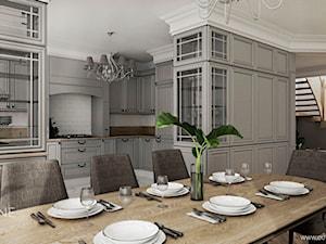 Dom jednorodzinny w stylu klasycznym