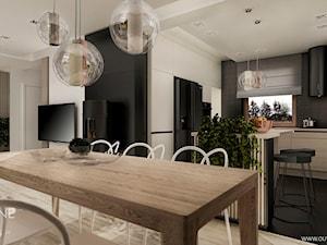 Dom jednorodzinny w stylu nowoczesnym