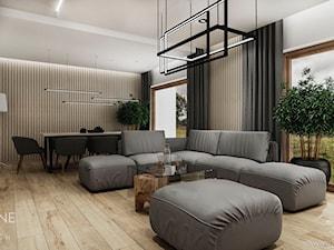Dom jednorodzinny w stylu nowoczesnym 2