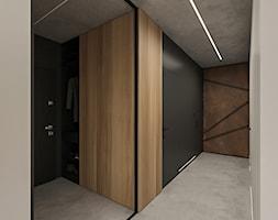 WARSZAWA, NOWY MARYSIN - MIESZKANIE - Hol / przedpokój, styl industrialny - zdjęcie od MIRAI STUDIO - Homebook