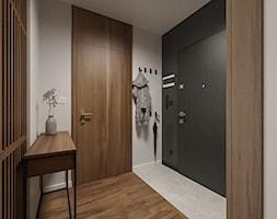 KRAKÓW, START CITY - MIESZKANIE - Hol / przedpokój, styl minimalistyczny - zdjęcie od MIRAI STUDIO - Homebook