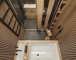Łazienka w stylu japońskim. - zdjęcie od MIRAI STUDIO - Homebook