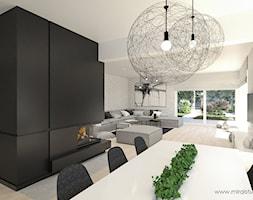 OLKUSZ, SŁONECZNA - DOM - Jadalnia, styl minimalistyczny - zdjęcie od MIRAI STUDIO - Homebook