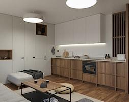 KRAKÓW, START CITY - MIESZKANIE - Kuchnia, styl minimalistyczny - zdjęcie od MIRAI STUDIO - Homebook