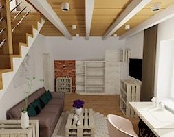 Pokoj dla nastolatki 2 - Średni biały salon - zdjęcie od radart