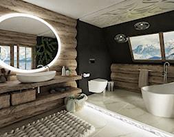 Góralska łazienka - zdjęcie od Chrobotek Design