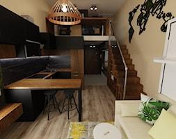 Salon połączony z kuchnią - zdjęcie od Chrobotek Design