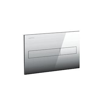 Przycisk spłukujący do WC. Podwójne spłukiwanie. Pasuje do stelaży LIS.SeriaLAUFEN INSTALLATION SYSTEM