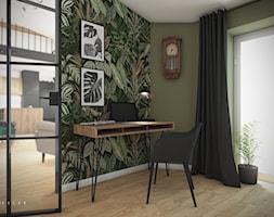 Mieszkanie 80 m2 Kraków - Biuro, styl vintage - zdjęcie od PROSTY UKŁAD - ARCHITEKTURA WNĘTRZ