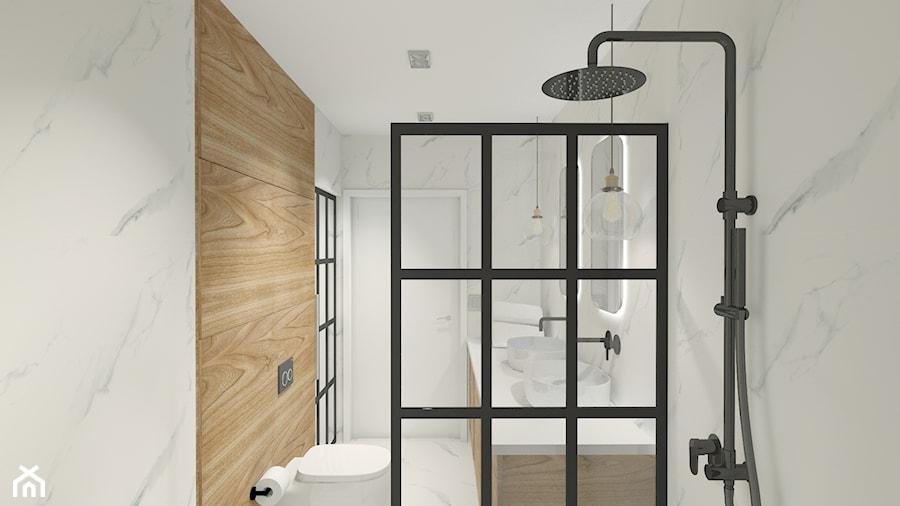 Aranżacje wnętrz - Łazienka: Projekt biura w Pleszewie - Mała szara łazienka w bloku w domu jednorodzinnym bez okna, styl rustykalny - Interior Koncept Projektowanie Wnetrz. Przeglądaj, dodawaj i zapisuj najlepsze zdjęcia, pomysły i inspiracje designerskie. W bazie mamy już prawie milion fotografii!