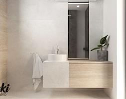 Minimalistyczna łazienka - zdjęcie od Nunki Studio