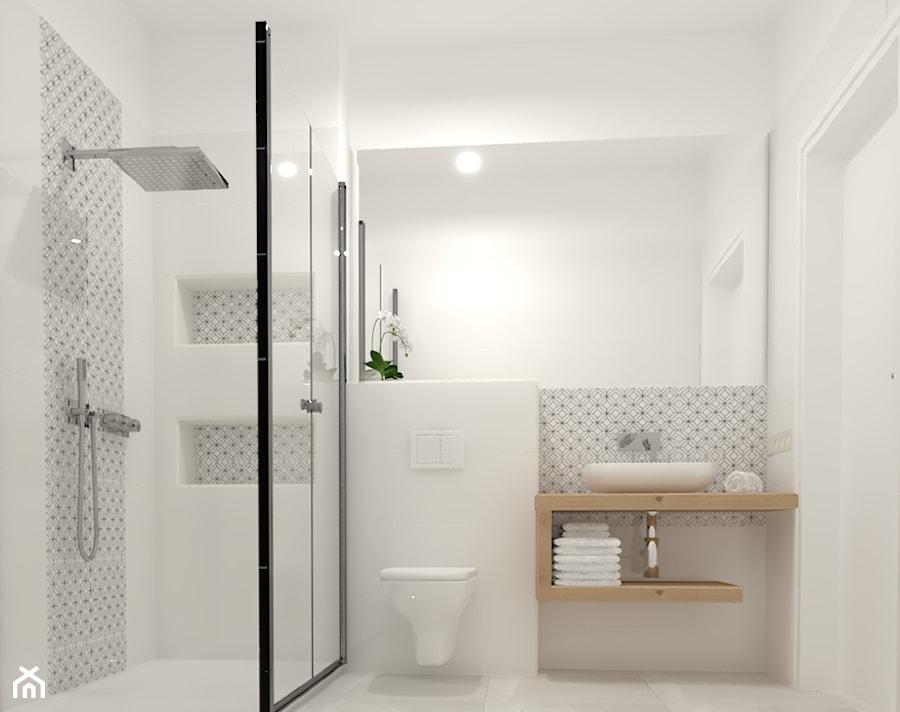 Inspiracje łazienka Styl Skandynawski Zdjęcie Od
