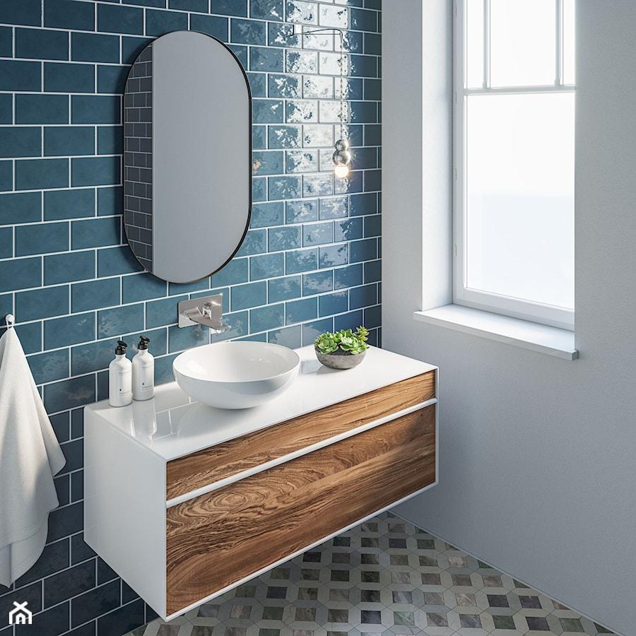Inspiracje łazienka Styl Vintage Zdjęcie Od Komfort
