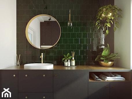 Aranżacje wnętrz - Łazienka: ZIELONA ŁAZIENKA | BUTELKOWA ZIELEŃ - Średnia biała zielona łazienka z oknem, styl tradycyjny - STUDIOPROJEKT.RW. Przeglądaj, dodawaj i zapisuj najlepsze zdjęcia, pomysły i inspiracje designerskie. W bazie mamy już prawie milion fotografii!