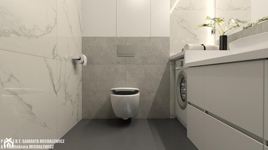 Zielona Góra Wnętrze Minimalistycznej łazienki Dla