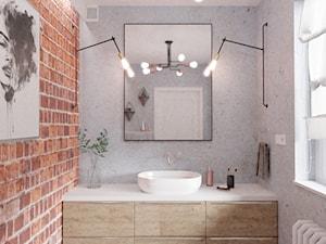 Surowa, lecz przytulna toaleta   Warszawa