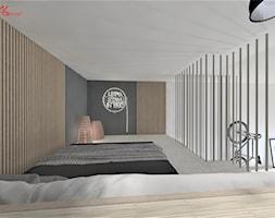 Mieszkanie singla - sypialnia - zdjęcie od ASdesign