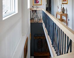 Schody drewniane typu zigzak - Schody, styl nowoczesny - zdjęcie od ZPD KAMI schody drewniane