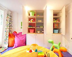Meble na wymiar - Średni biały pokój dziecka dla dziewczynki dla ucznia dla malucha, styl nowoczesn ... - zdjęcie od Mebmal Jacek Malowaniec - Homebook