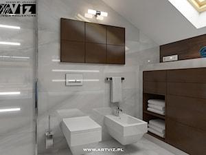 Nowoczesna łazienka ze spiekami