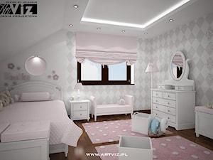 Romantyczny pokój dla dziewczynki