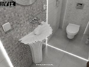 WC z nietypową umywalką