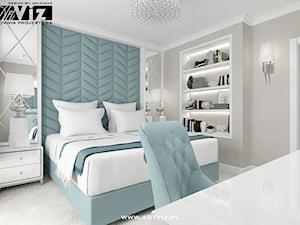 Sypialnia w 2 kolorach