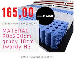 Materac+klasyczny+kieszeniowy+90x200+H3+-+zdj%C4%99cie+od+Napkomfort
