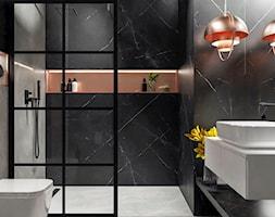 Elegancka łazienka w nowoczesnym wydaniu - zdjęcie od KWKONCEPT - Homebook