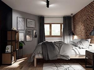 Metamorfoza sypialni- loft - zdjęcie od KWKONCEPT