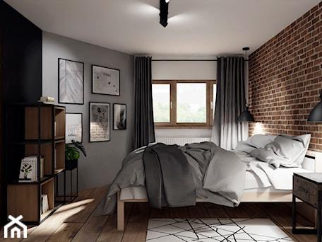 Aranżacje wnętrz - Sypialnia: Metamorfoza sypialni- loft - KWKONCEPT. Przeglądaj, dodawaj i zapisuj najlepsze zdjęcia, pomysły i inspiracje designerskie. W bazie mamy już prawie milion fotografii!