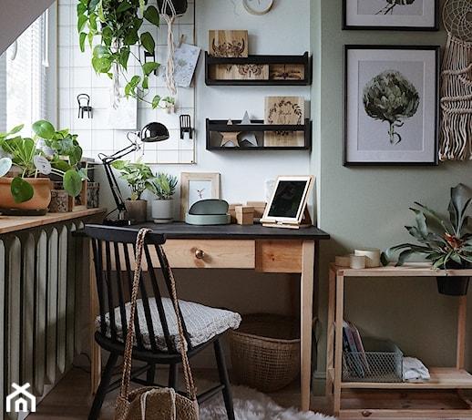 Biurko w salonie – inspiracje i pomysły na aranżację biurka w salonie
