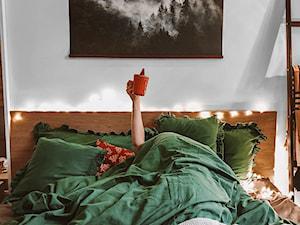 Świąteczna aranżacja sypialni - Nasze Domowe Pielesze