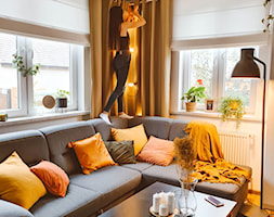 Przytulny salon - Nasze Domowe Pielesze - zdjęcie od Nasze Domowe Pielesze - Homebook