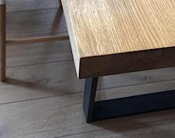 St%C3%B3%C5%82+Forza+o+prostej+kraw%C4%99dzi+d%C4%99bu+na+nogach+malowanych+na+kolor+czarny+-+zdj%C4%99cie+od+Gioia+Furniture