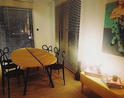 St%C3%B3%C5%82+o+naturalistycznej+formie+li%C5%9Bcia+na+nogach+ze+stali+malowanej+na+kolor+czarny+-+zdj%C4%99cie+od+Gioia+Furniture