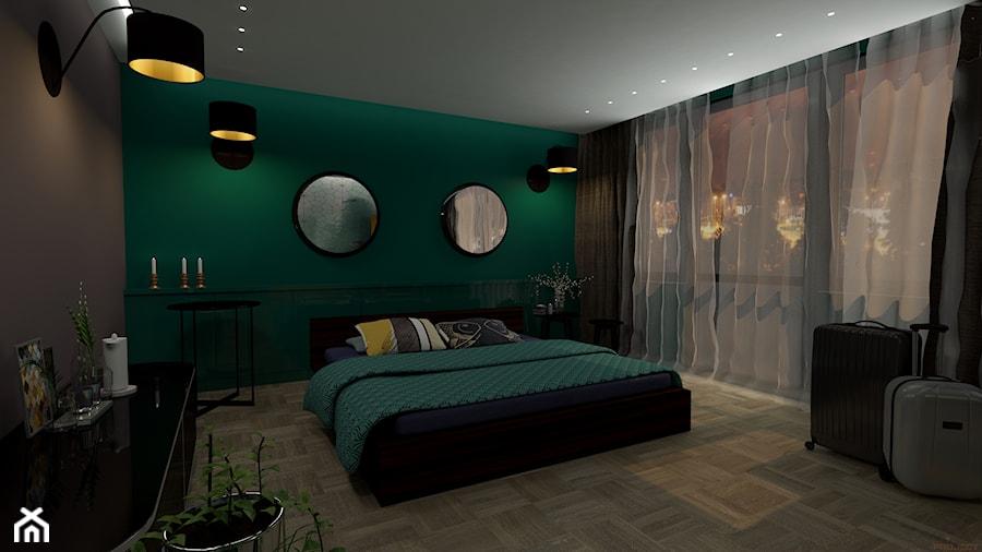 Zielona sypialnia - zdjęcie od MAC-Project