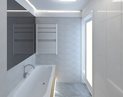 Wąska łazienka - zdjęcie od Dom od Nowa