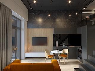 Reprezentacyjna, otwarta kuchnia w małym mieszkaniu - 5 inspirujących rozwiązań
